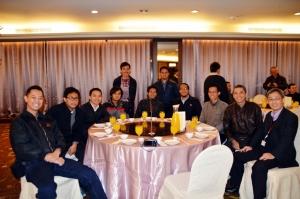 Suasana Dinner bersama Nuvoton